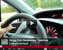 2012 Honda Civic video reviews and test-drive in Jackson MS area