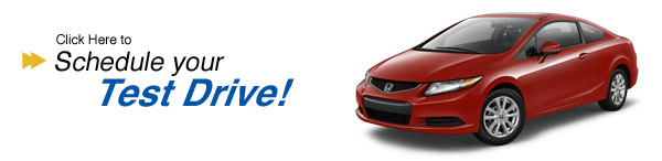 Schedule your Civic Coupe test drive today
