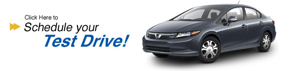 Schedule your civic hybrid test drive today