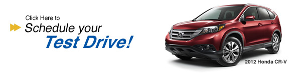 Schedule a CRV test-drive