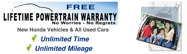 Lifetime Powertrain Warranty New &amp; Used Cars