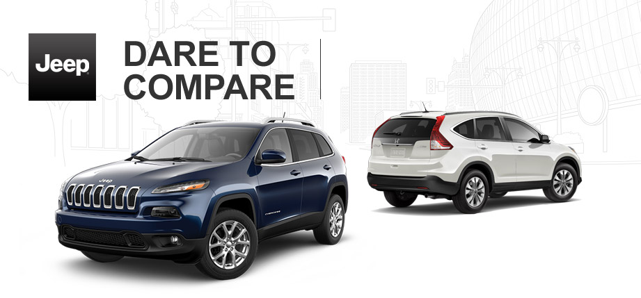 2014 Jeep Cherokee vs 2014 Honda CR-V
