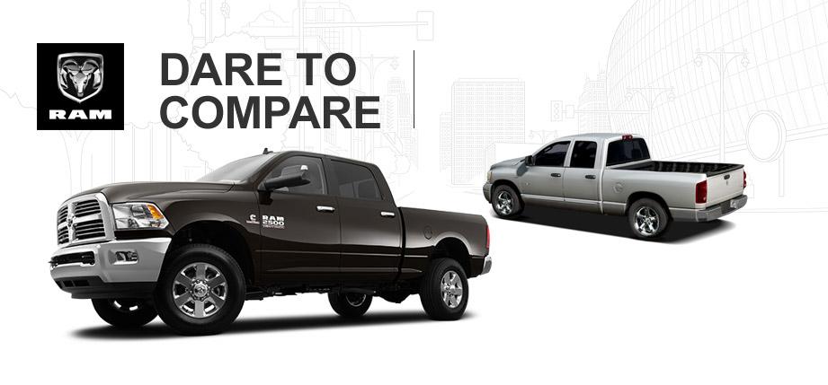 New Ram Truck vs Old Ram Truck