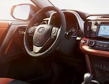 2014 Toyota RAVA4 Interior