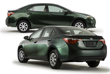 2014 Toyota Corolla New Design