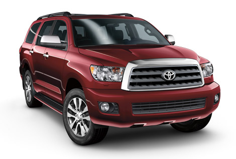 2014 Toyota Sequoia Body Design