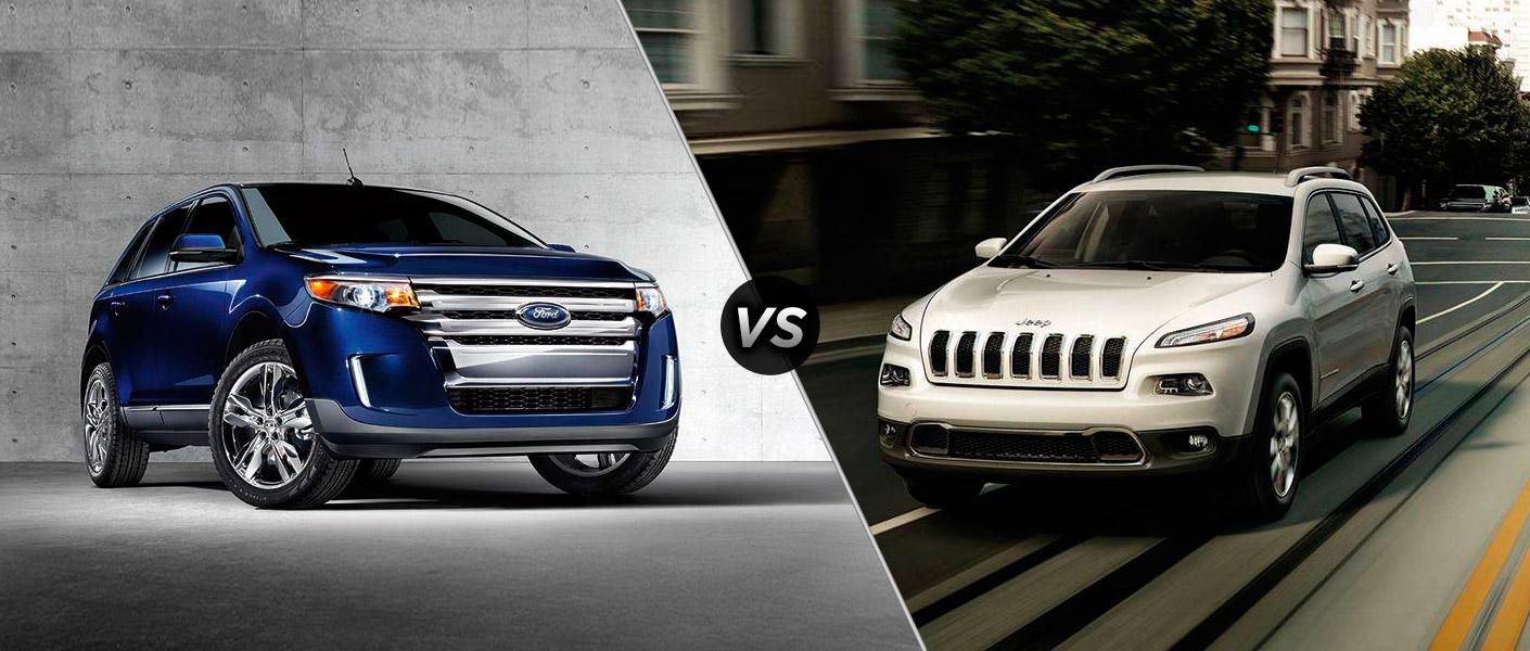 brandon ford 2015 ford edge vs the 2015 jeep cherokee. Black Bedroom Furniture Sets. Home Design Ideas