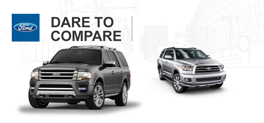 brandon ford 2015 ford expedition vs 2015 toyota sequoia. Black Bedroom Furniture Sets. Home Design Ideas