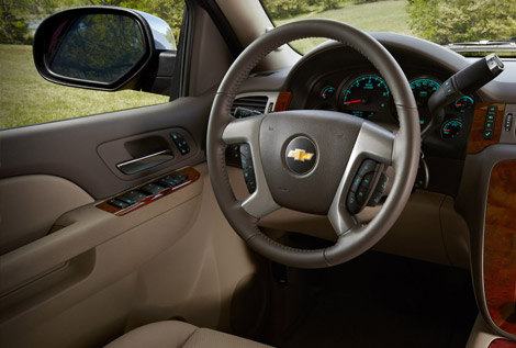 2014 Chevy Suburban Interior