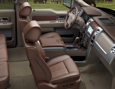 2013 Ford F-150 Eau Interior