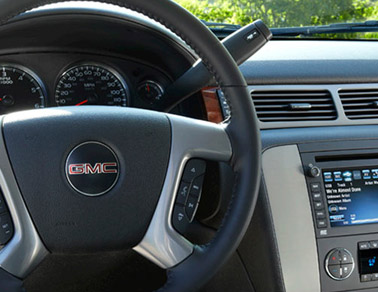 2014 GMC Yukon XL interior