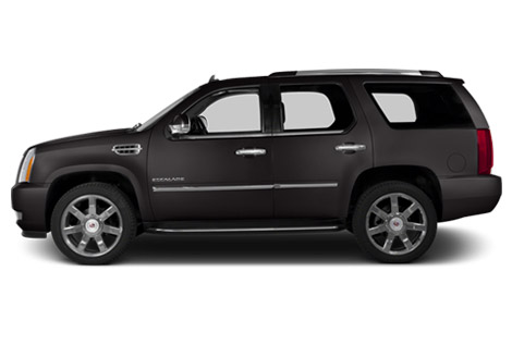 2014 Cadillac Escalade left side