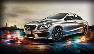 2014 Mercedes-Benz CLA vs 2014 Mercedes-Benz C-Class Exterior