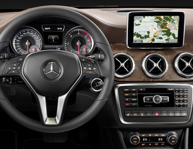 2015 Mercedes-Benz GLA Interior