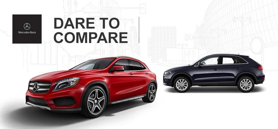 2015 Mercedes-Benz GLA vs. 2015 Audi Q3