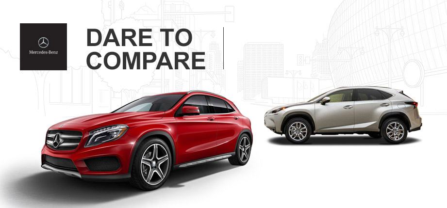2015 Mercedes-Benz GLA vs 2015 Lexus NX 200t