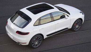 Porsche Macan Overhead View