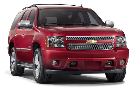 2014 Chevy Tahoe front