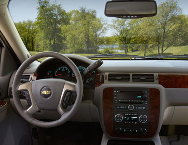 2014 Chevy Tahoe Interior