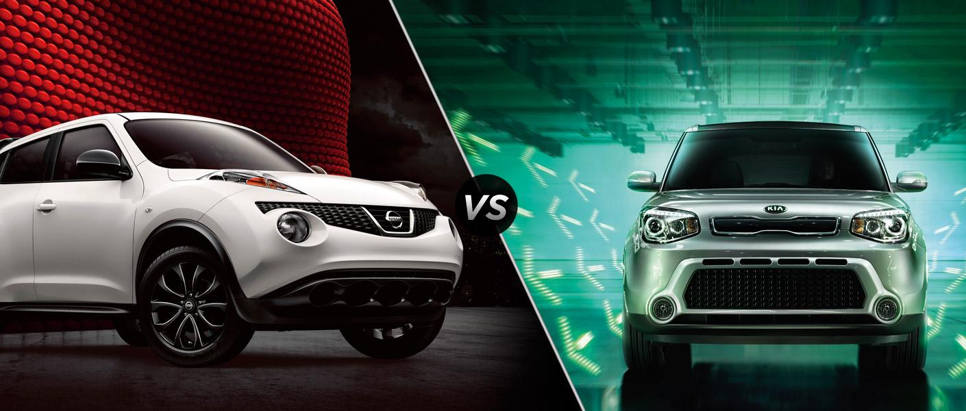 2015 Nissan Juke vs 2015 Kia Soul | Rairdon's Nissan of Auburn