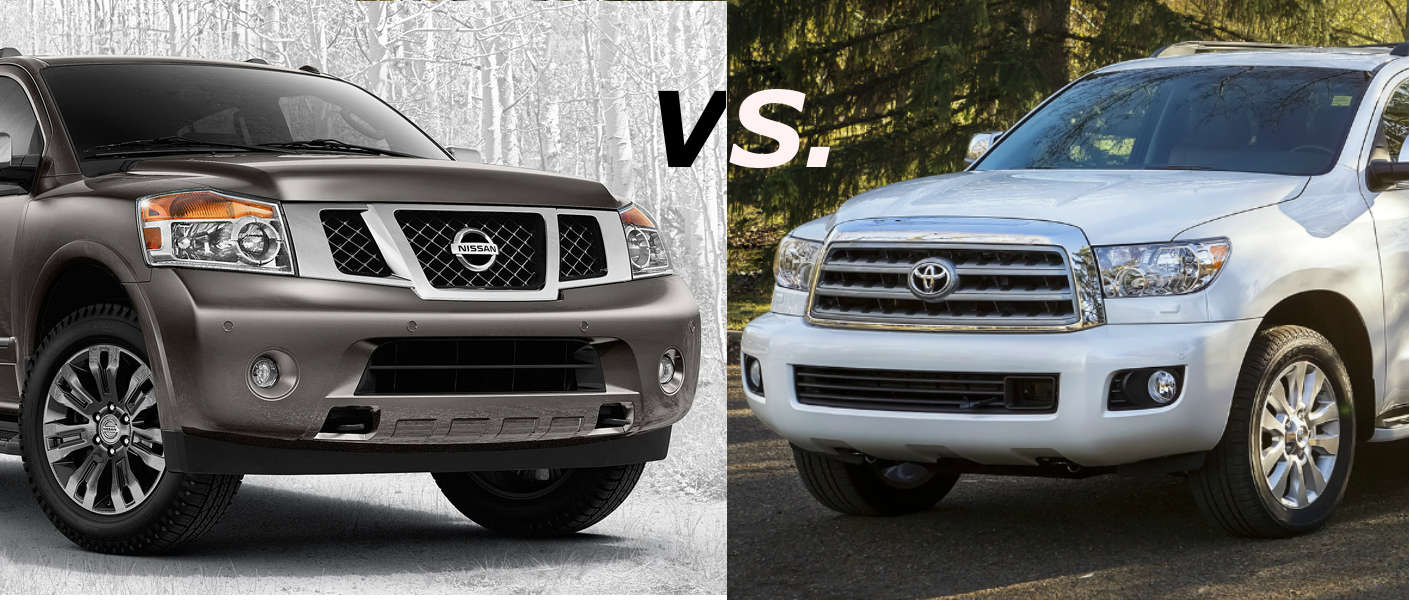 2015 Nissan Armada Vs Toyota Sequoia Rairdons Of Auburn Fuel Filter Location