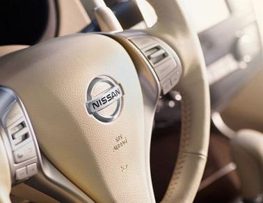 New Nissan Altima interior