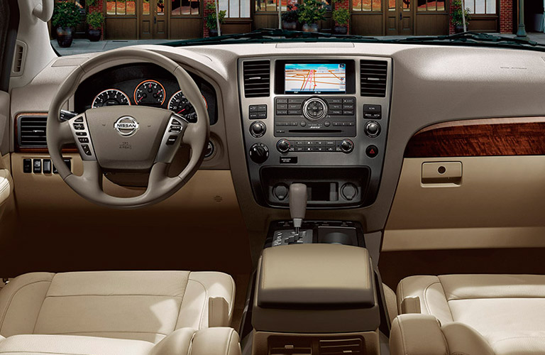 2014 Nissan Armada Houston TX interior