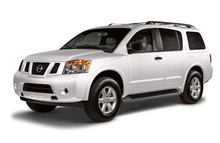 2014 Nissan Armada Houston TX exterior