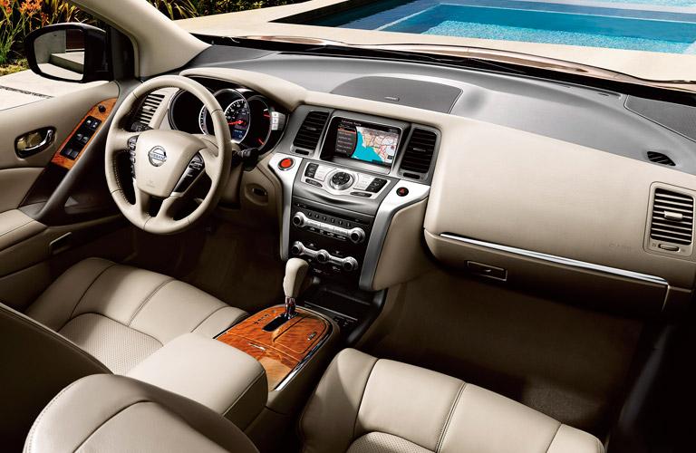 2014 Nissan Murano interior