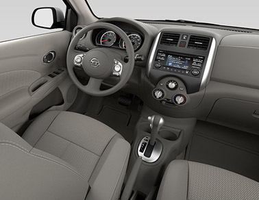 2014 Nissan Versa Houston TX interior