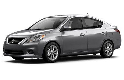 2014 Nissan Versa Houston TX exterior