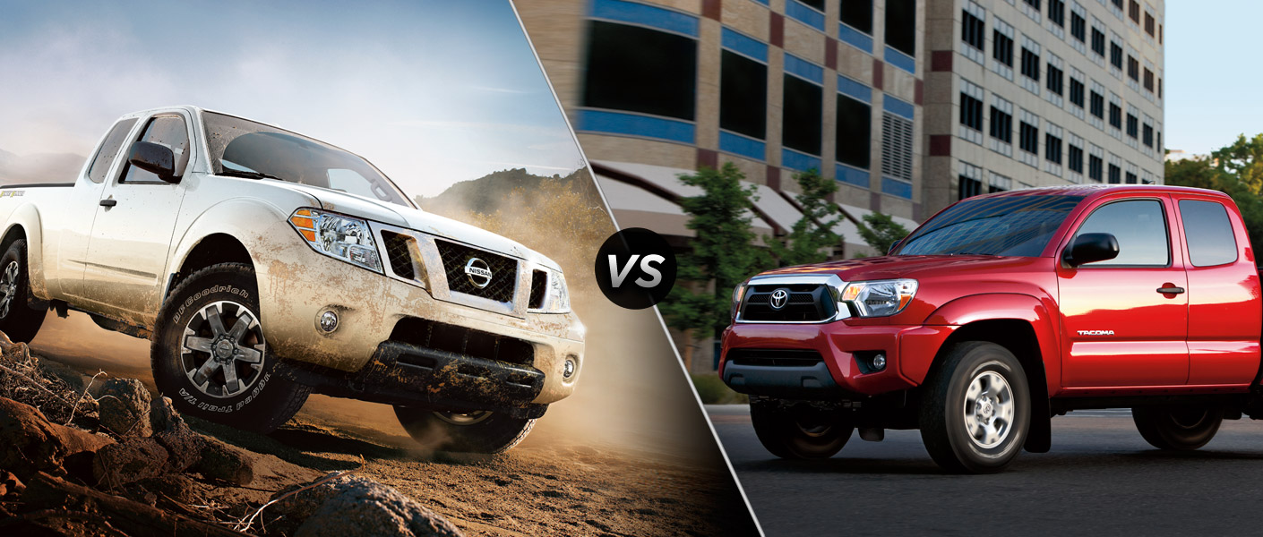 2014 Nissan Frontier vs. Toyota Tacoma
