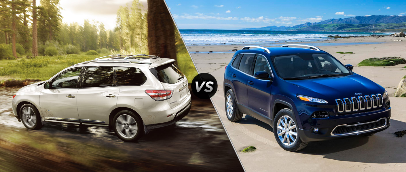 2014 Nissan Pathfinder vs. 2014 Jeep Cherokee Houston TX
