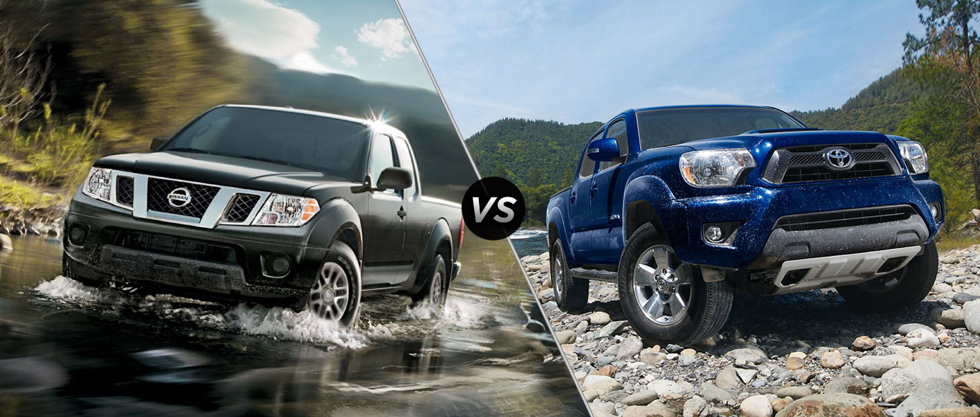 2015 Nissan Frontier vs 2015 Toyota Tacoma Houston TX