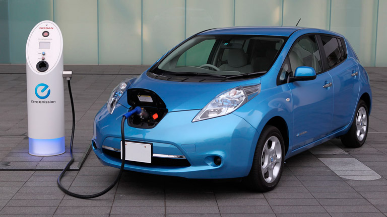 2015 Nissan LEAF Houston TX