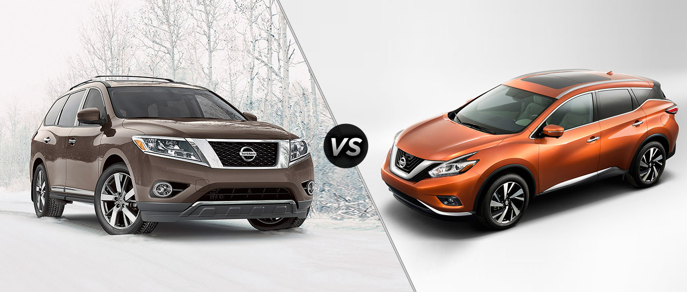 2015 Nissan Pathfinder vs 2015 Nissan Murano Houston TX