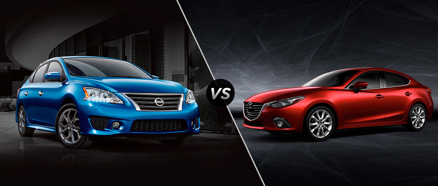 2015 Nissan Sentra vs 2015 Mazda3 Houston TX