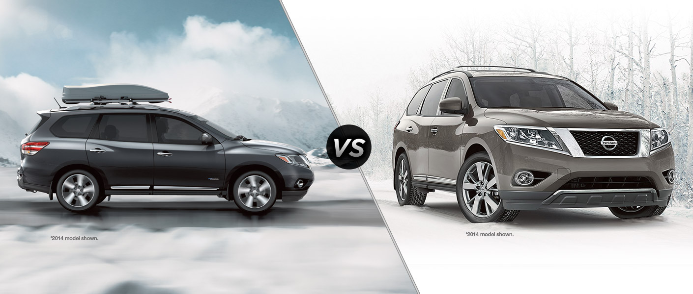 2015 Nissan Pathfinder SL vs 2015 Nissan Pathfinder Platinum Houston TX