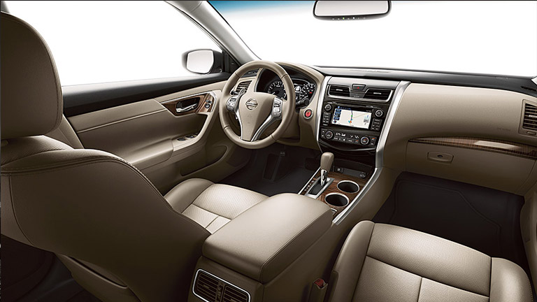 2015 Nissan Altima Interior Houston TX