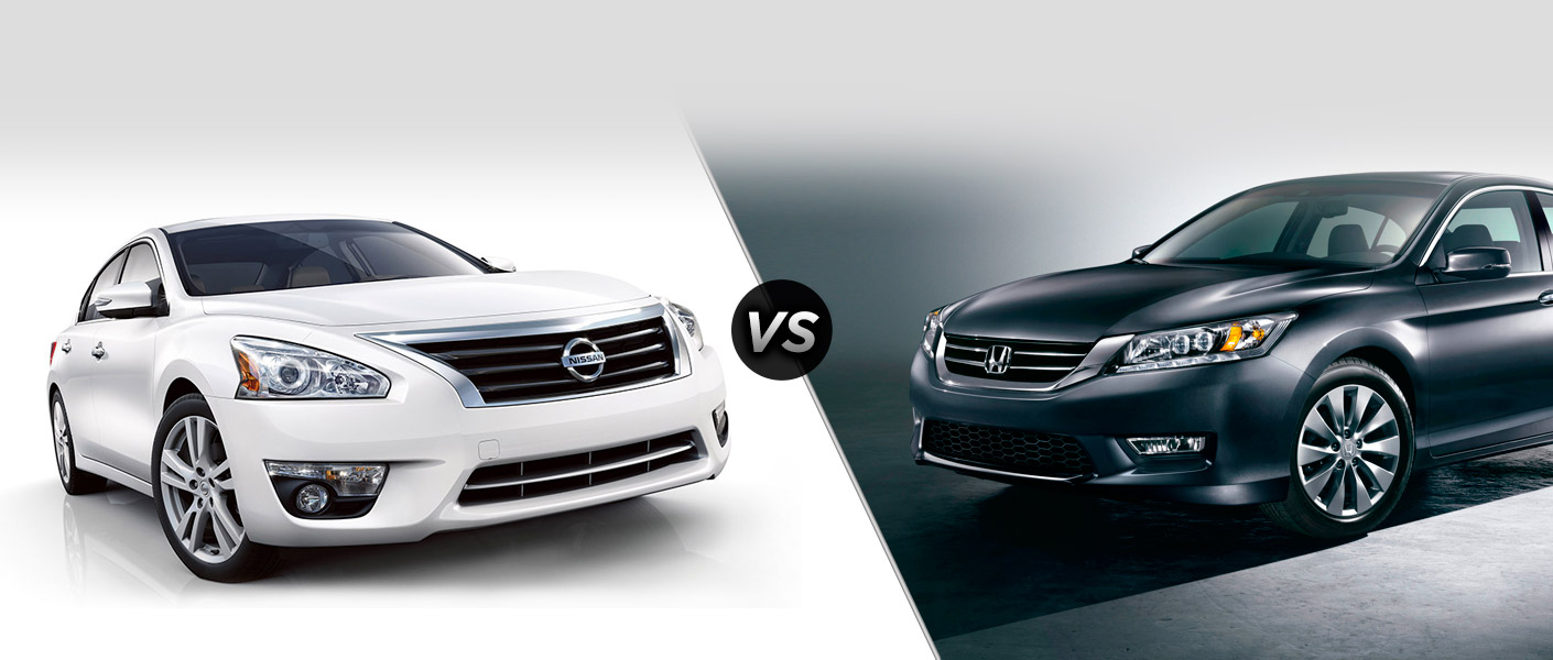 2015 Nissan Altima vs 2015 Honda Accord Houston TX