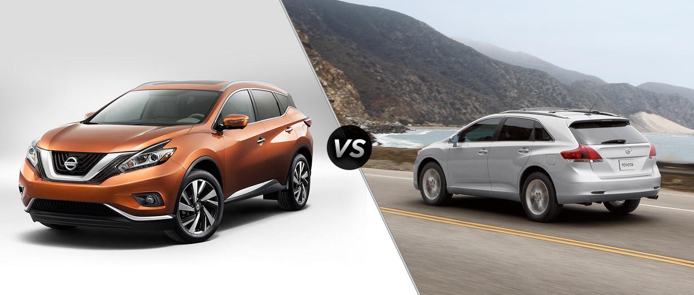 2015 Nissan Murano vs 2015 Toyota Venza Houston TX