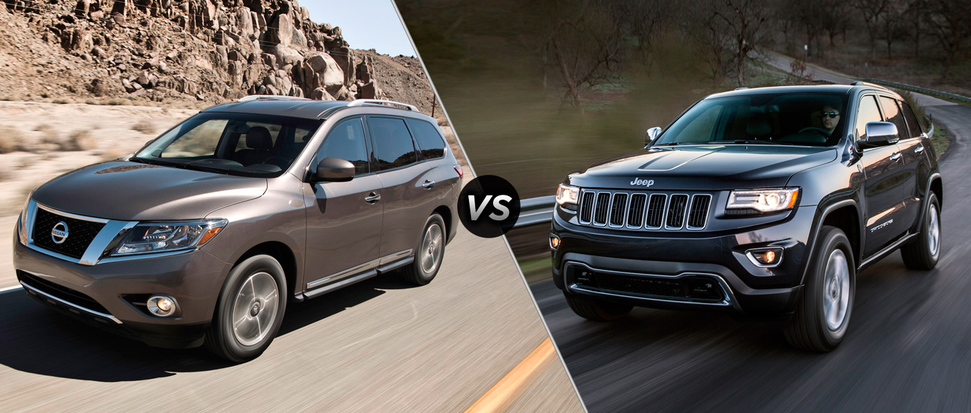 2015 Nissan Pathfinder vs 2015 Jeep Grand Cherokee Houston TX