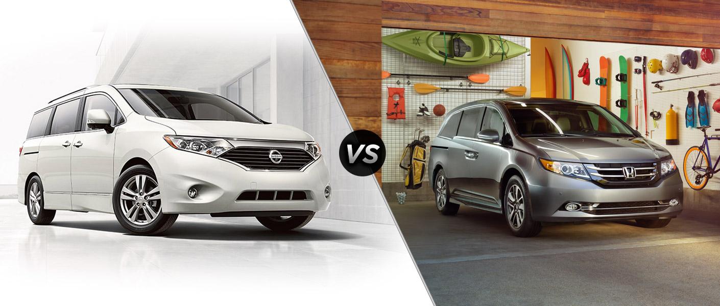 2015 Nissan Quest vs 2015 Honda Odyssey Houston TX