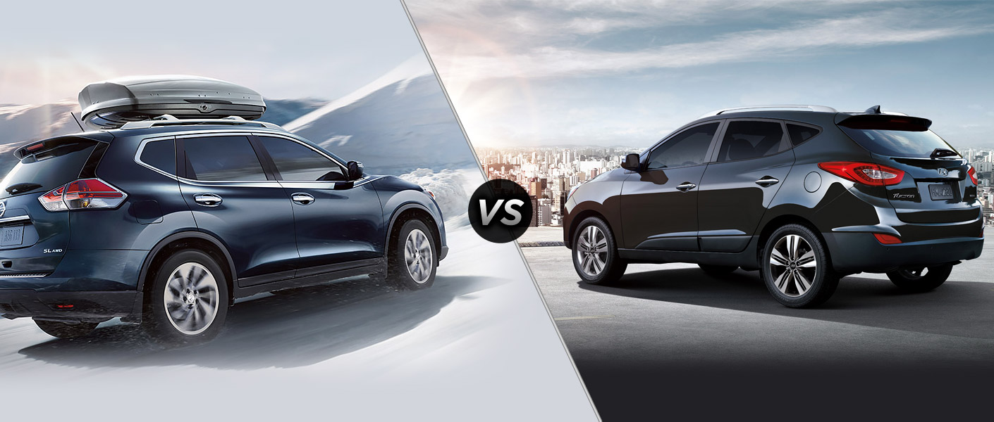 2015 Nissan Rogue vs 2015 Hyundai Tucson Houston TX