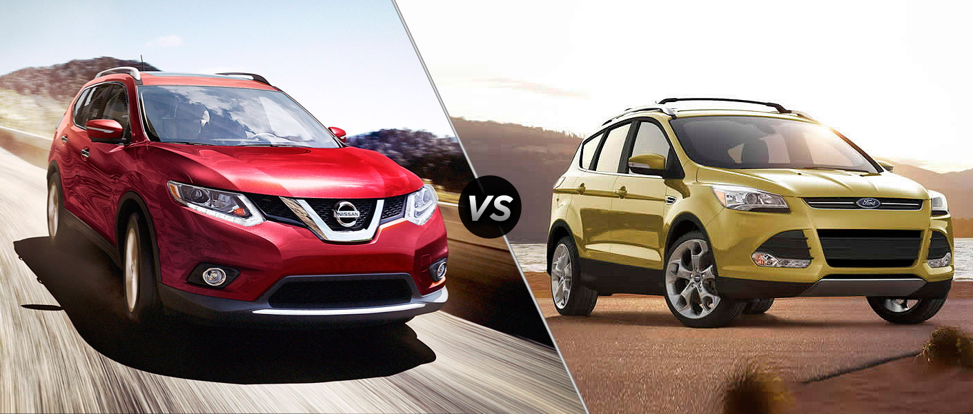 Nissan Rogue Vs  Ford Edge Houston Tx
