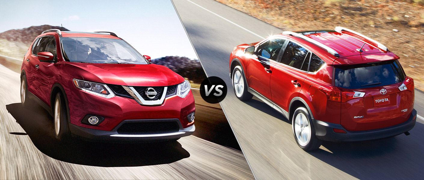 2015 Nissan Rogue vs 2015 Toyota RAV4 Houston TX