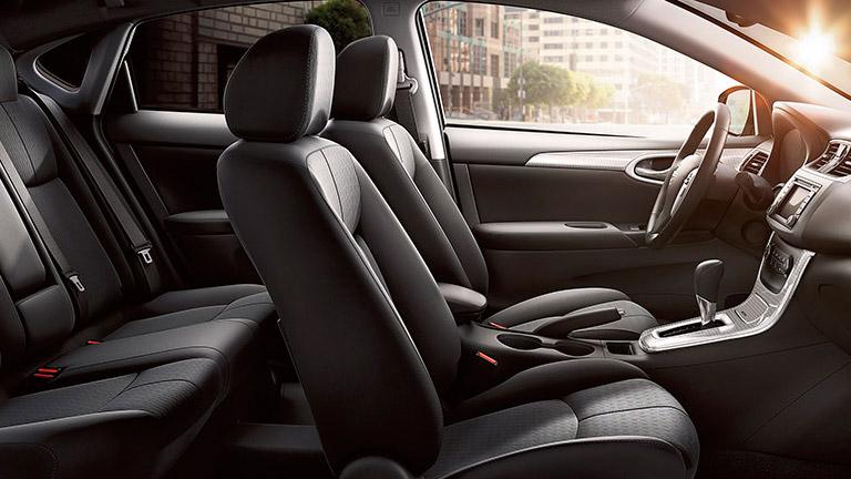 2015 Nissan Sentra Interior Houston TX