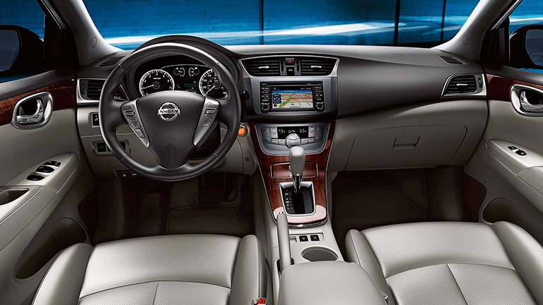 2015 Nissan Sentra Interior Houston TX