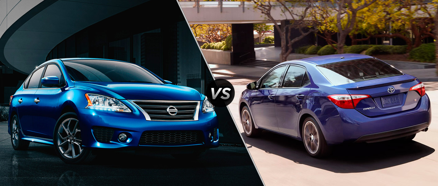 2015 Nissan Sentra vs. 2015 Toyota Corolla Houston TX