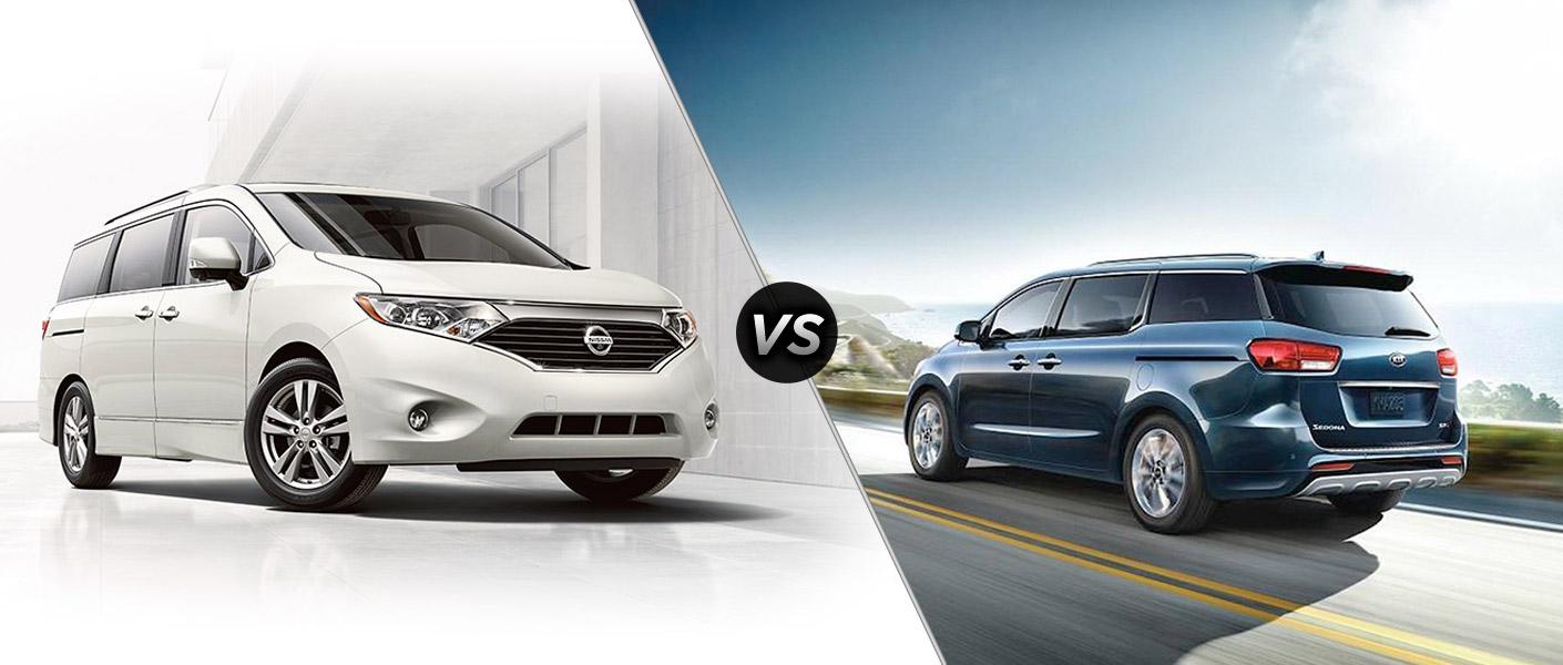 2015 Nissan Quest vs 2015 Kia Sedona Houston TX